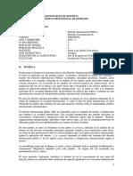 Sílabo Derecho Internacional Público - Luis Alfonso García Corrochano Moyano