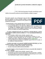 Documentele justificative privind dobandirea calitatii de asigurat.doc