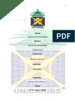Cuestionarios de Sistema de contabilidad 1 Marielys Segura Santos