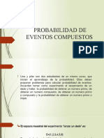PROBABILIDAD DE EVENTOS COMPUESTOS