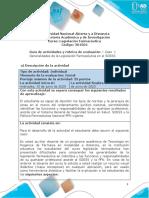 Guia de actividades y Rúbrica de evaluación - Unidad 1 - Caso 1 - Generalidades de la Legislación Farmacéutica en el SGSSS.pdf