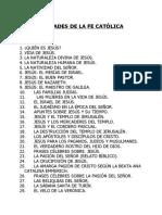 Guido Rojas, Verdades de la fe Catolica Original