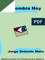 Melo, Jorge Orlando - La Republica Conservadora