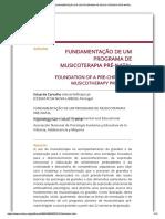 FUNDAMENTAÇÃO DE UM PROGRAMA DE MUSICOTERAPIA PRÉ-NATAL