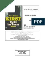 Held im Turm by Hans Hellmut Kirst