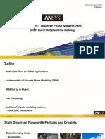 Fluent Multiphase 19.0 L03 DPM