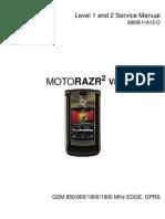 Manual Service Motorola V8