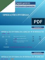 Operações inversas