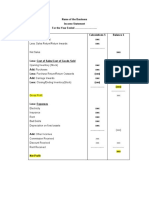 Income Statement and Balance Sheet Format.docx