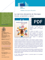 Evaluación docente en Europa