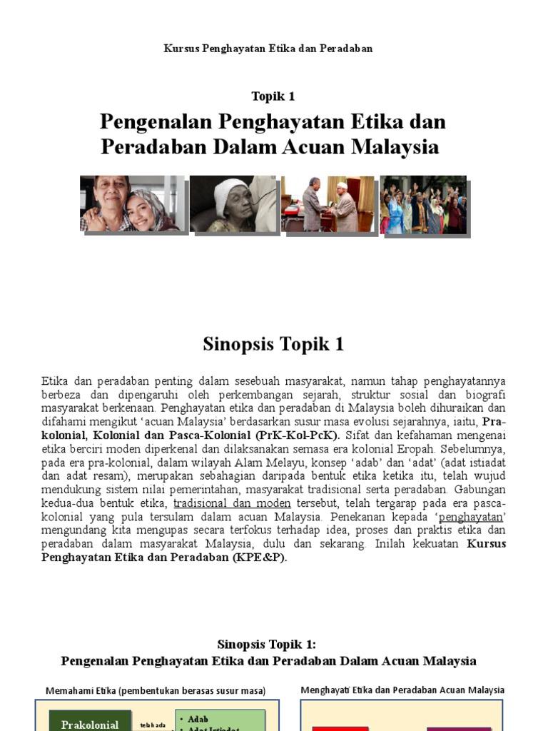 Bab 1 Etika