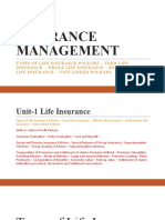 1 Types of Life Insurance Plans & ULIPS