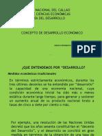 1.1 Definición de Desarrollo Económico