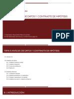Tema 8. Análisis de datos y contraste de hipótesis