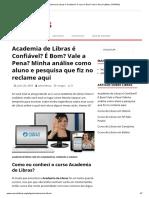 Academia de Libras é Confiável_ O curso é Bom_ Vale a Pena_ (Minha OPINIÃO)