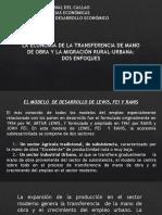 3.2 EL MODELO DE LEWIS, FEI Y RANIS