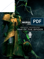 Psychic Awakening - War of the Spider