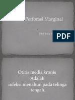 OMK Perforasi Marginal