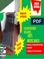 calentadores solares MSI