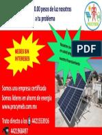 Paneles solares MSI