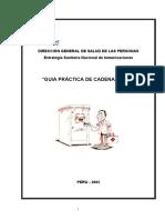 GUIA DE CADENA DE FRIO