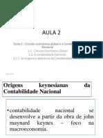AULA 2-TEMA 2- CONTABILIDADE NACIONAL E  CIRCUITO ECONOMICO - Copy