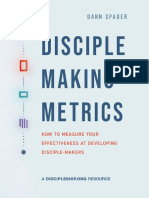 Disciple-Making-Metrics