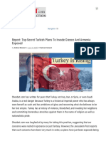 Report_ Top-Secret Turkish Plans To Invade Greece And Armenia Exposed - Walid Shoebat