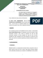 RESOLUCIÓN DE ANULABILIDAD