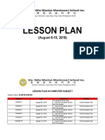 LESSON PLAN- 7th WEEK - August 6-10, 2018.docx