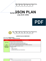 LESSON PLAN- Fifth WEEK - JuLY 23-27, 2018.docx