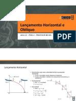 Extensivo - Física 1 - 12 - Lançamento Horizontal e Oblíquo