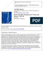 Ulunian A. A., Soviet Cold War Perceptions of Turkey and Turkey 1945-1958.
