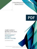 Fenomenología y pedagogía