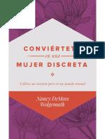 Conviertete en una Mujer Discre - Nancy DeMoss