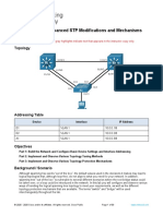3.1.2 Lab - Implement Advanced STP Modifications and Mechanisms - ILM.docx