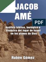 A JACOB AMÉ_ Análisis bíblico, teológico e histórico del lugar de Israel en los planes de Dios (Spanish Edition)