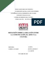 REFLEXION ARTE COMUNICACION Y CULTURA - RAFAEL QUIJADA