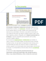 Definición de Documento