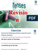 All Tenses Revision