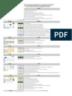 Calendario Acadêmico 1º semestre 2020 - COVID-19 (2)