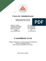 ATPS contabilidade