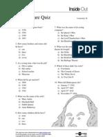 shak quiz