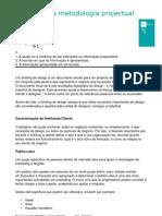 Layout e Metodologia Projectual