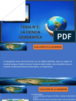 La Ciencia Geografica