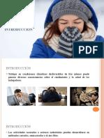 Estrés térmico por frío(1)
