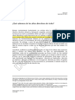 001 Que Sabemos de Los Altos Directivos