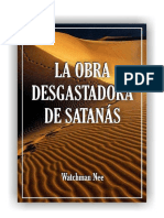 LA OBRA DESGASTADORA DE SATANÁS - WNee en librito LSM