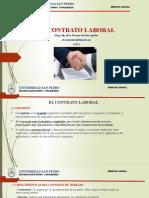 3.-EL CONTRATO LABORAL