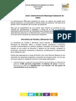 Informe 100 dias Sabaneta De Todos